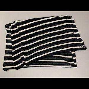 Club Monaco striped scarf
